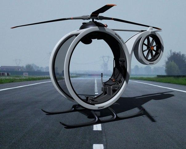 Konsep Modern Helikopter Pribadi