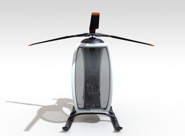 amazing helicopter 2 ZERO   Amazing Ultramodern Personal Helicopter