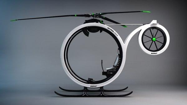 amazing helicopter 3 ZERO   Amazing Ultramodern Personal Helicopter